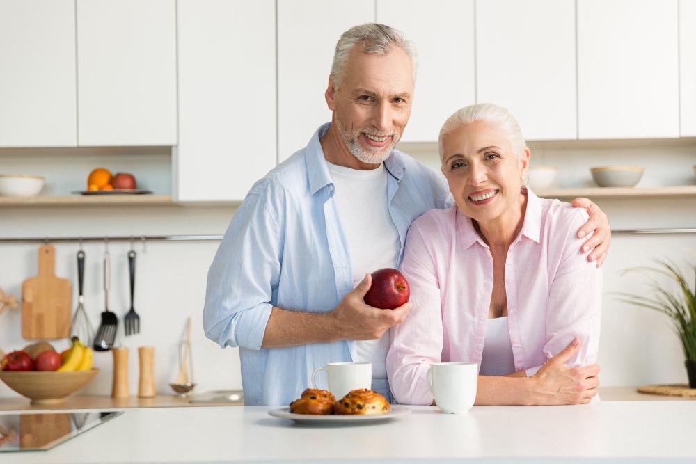 Dental Implant Dentist | Mature happy couple